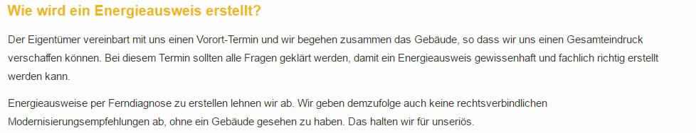 Dena Gütesiegel Energieausweis in  Affalterbach