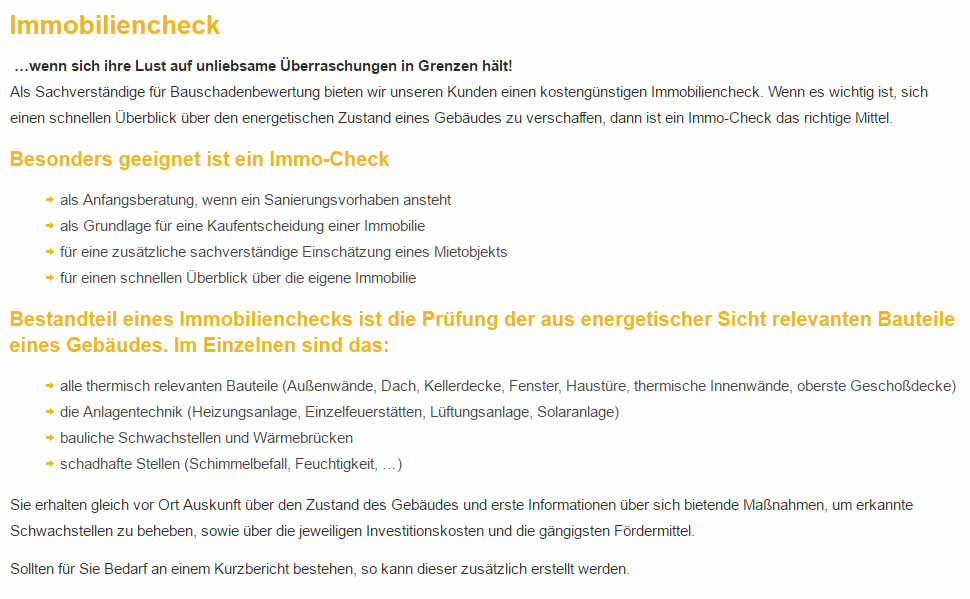 Immobiliencheck, Bauschadenbewertung in 73569 Eschach