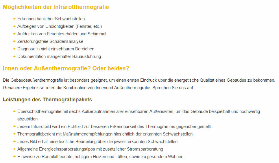 Thermografie Partner in 67374 Hanhofen