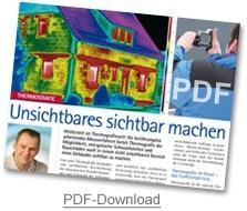 Thermografie - Unsichtbares sichtbar machen (PDF-Download ca. 3,2 MB)