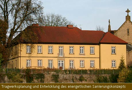 Tragwerksplanung und Entwicklung des energetischen Sanierungskonzepts